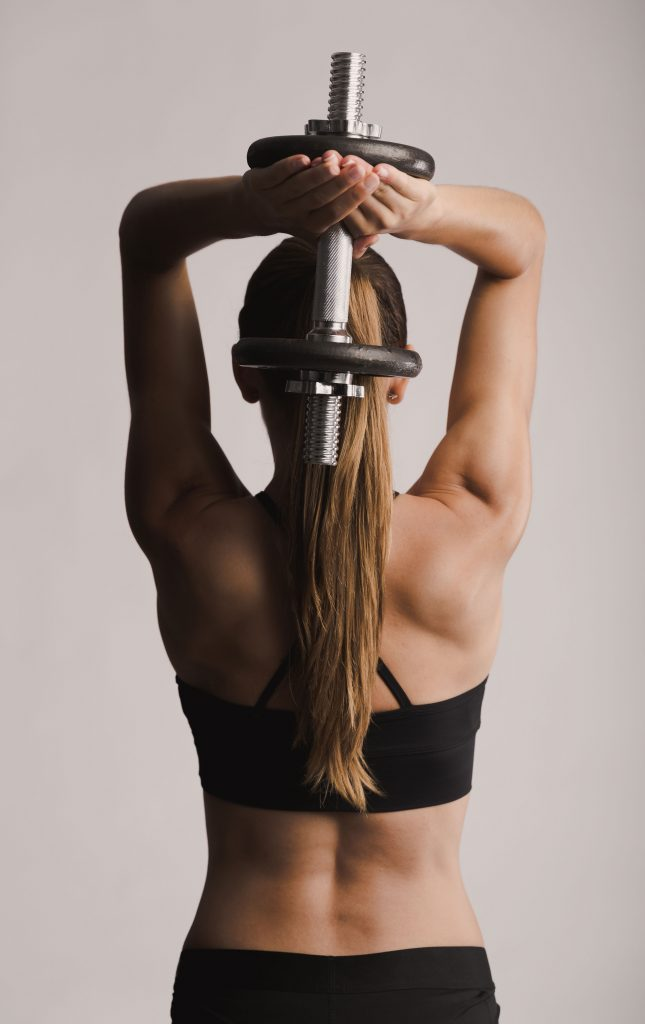 woman-working-out-with-dumbell